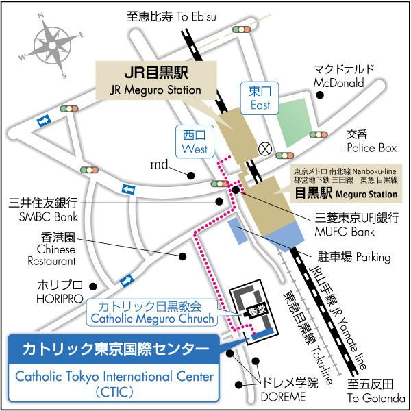 CTIC direction map