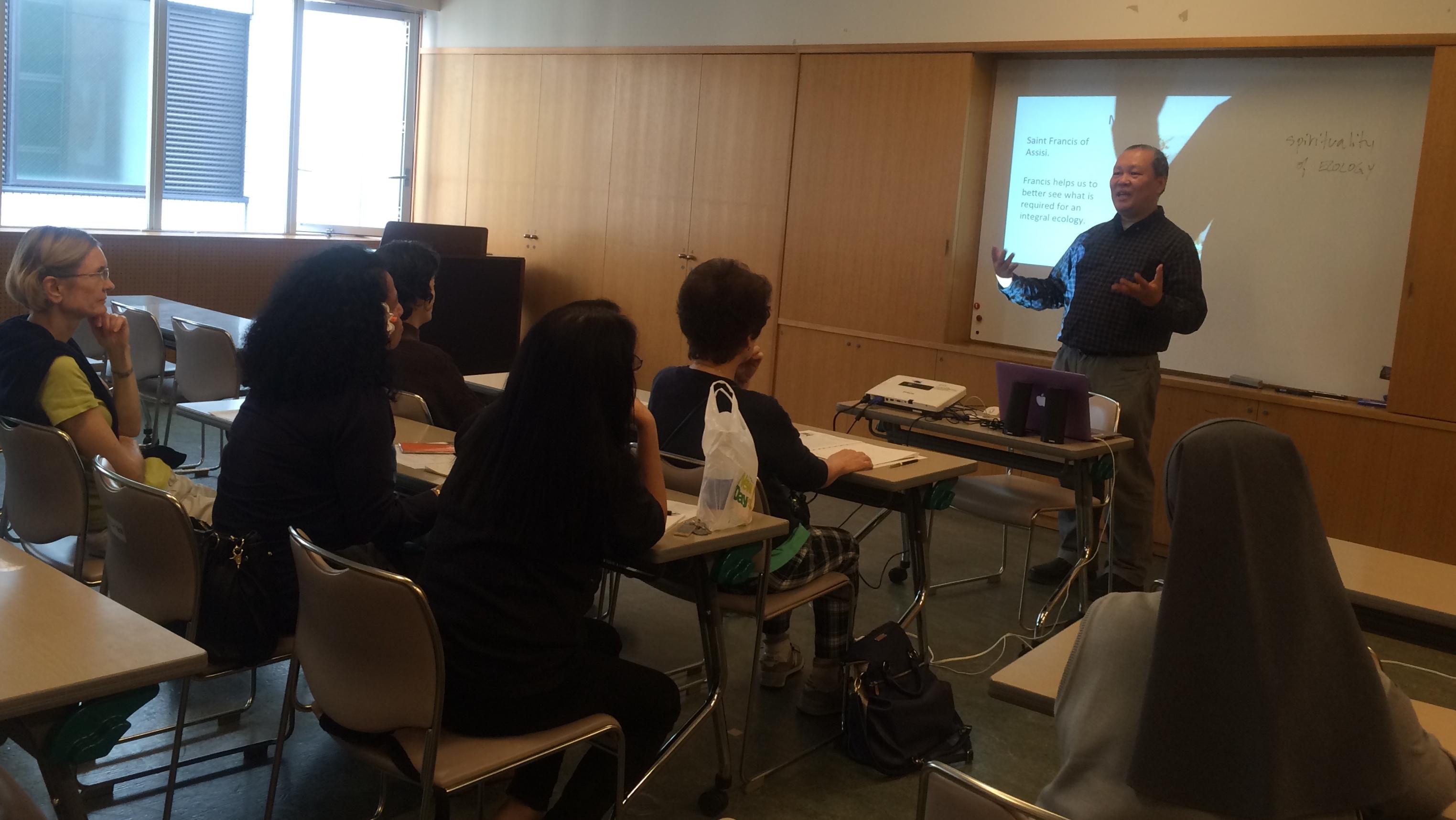 laudato si seminar at yotsuya